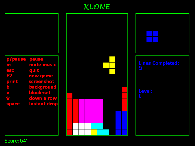 Klone (Block Drop Palace)